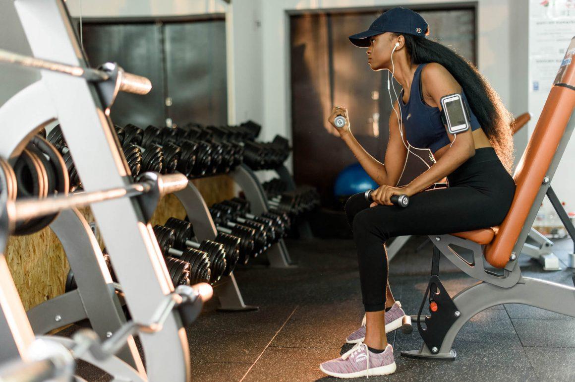 resultados na musculação