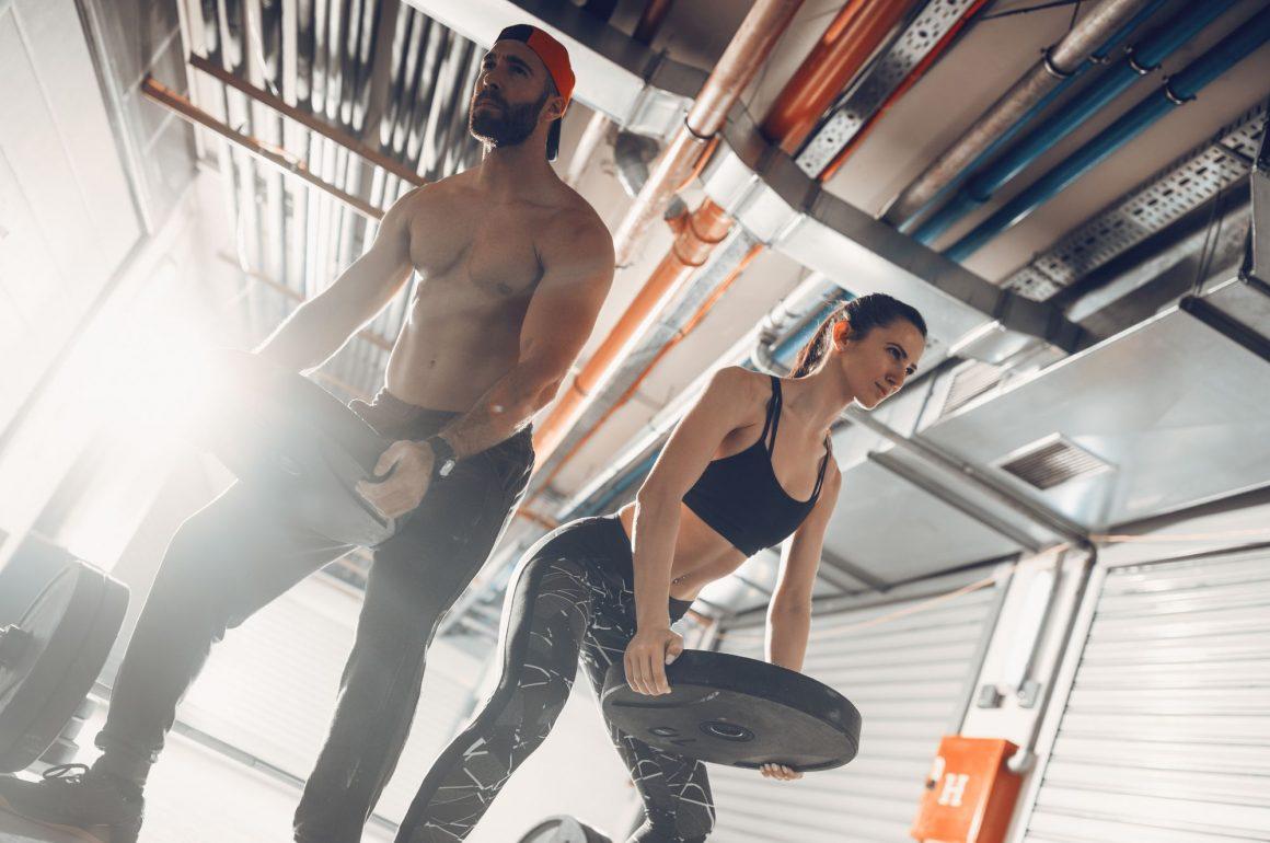 treinar musculação